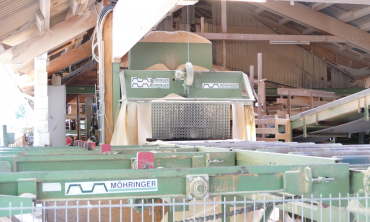 2018: Dismantling and loading of the sawmill Möhringer-EWD