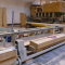 Press for  cross laminated timber (CLT), YC 2011